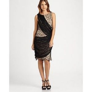 Alice + Olivia Lace Sash Dress Silk NWT 2 6